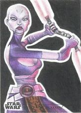 2020 Topps Women Of Star Wars Asajj Ventress Sketch Card By Jamison Murdock RARE