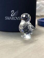 Swarovski Crystal Figurines Miniature Duck Standing
