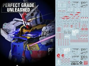 Gundam UC water slide decal SIMP High Definition PG Unleashed RX-78-2 1/60