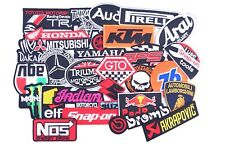 Wholesale Lot of 28 Racing Sport Motorsport Embroidered Sew Iron On Patch diy