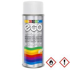 1 x 400ml RAL 9010 Eco Lackspray Lack Wasserbasis Styropor Weiß Matt 16228