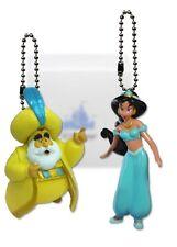 "Disney Aladdin Sultan & Jasmine Christmas Ornament Keychain Dangler 3"" New Rare"
