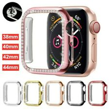 For Apple Watch Series 5 4 3 2 1 Bling Protector Case Cover Bumper Screen Frame