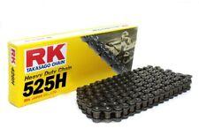 (275179) Cadena Moto RK 525H con 130 eslabones negro
