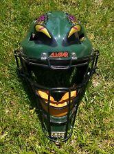 All Star Snake Viper Hockey Style MVP 2300 Baseball Catchers Mask Helmet Green