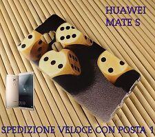 Cover custodia in gomma di silicone per Smartphone Huawei MATE S DADI DA GIOCO