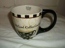 Lang GOOD FRIENDS GOOD COFFEE GOOD LIFE Coffee Mug Cup 10 oz 2009
