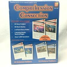 Remedia Publications REM1089 Comprehension Connection Story Folders Homeschool