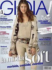 Gioia 2015 43.La moda soft,Rooney Mara,Matthias Schoenaerts,Grace Jones