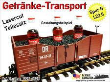 Spur G Getränke Transport Einsatz für Schierker Feuerstein f. LGB 4020