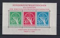 Berlin Block 1 Währungsgeschädigte postfrisch (bt9)