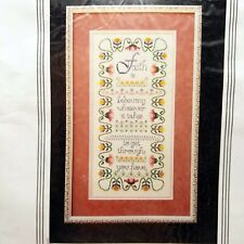 Counted Cross Stitch Kit Faith Sampler StitchWorld 20-133