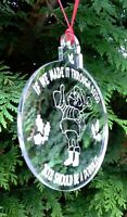 Christmas 'Made It Through 2020' Hanging Bauble Decoration Xmas Gift - Mirror