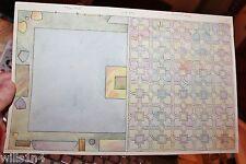 Painting Newburgh NY Helen ver Nooy Gearn Art Deco Interior study roof & Floor