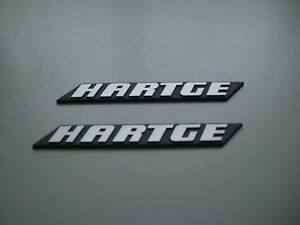BMW Hartge Typenschild Seitenleisten H3 H5 H6 H7 E34 e36 e38 e30 usw.