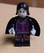Lego Harry Potter - Professor Snape Figur Prof schwarz grau Zauberer Umhang Neu