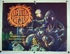 BATTLE BEYOND THE SUN 1962 Original US Half Sheet (Francis Ford Coppola)