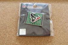 2013 Houston Texans logo yardage lapel pin NFL
