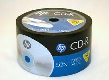 100 Pieces 52X Blank CD-R CDR Recordable Disc Media 700MB