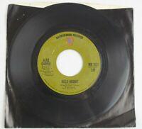 Alice Cooper Hello Hooray Generation Landslide Warner Bros. Records 45 RPM