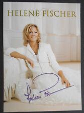 HELENE FISCHER original signiert – 10x15cm