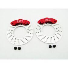 Hot Racing RVO21BR02 Traxxas Revo Brake Disc Red Caliper 49mm 1/10 Revo