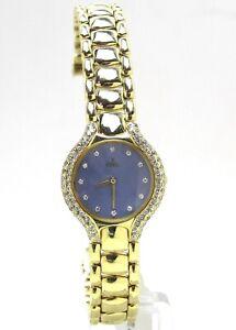 Ebel 18k Beluga Mother of Pearl Diamond Dial & Bezel Watch 866969