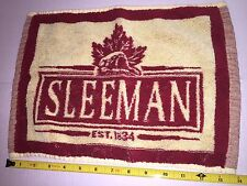 Sleeman Beer , Bar Or Golf Towel Has Beaver , Man cave , Original Tags