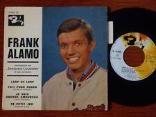 45T 1er EP FRANK ALAMO - LOOP DE LOOP - BARCLAY 70538 + Languette