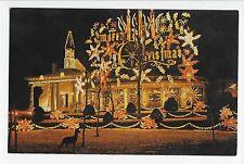 Vintage Postcard Oriskany New York NY Trinkaus Manor Deer Holiday Season Rte 69