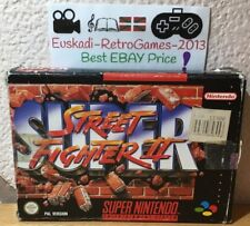 Super Street Fighter II [2] En Caja- Super Nintendo SNES (SIN MANUAL)