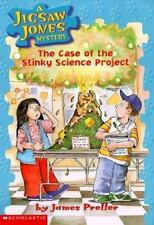 The Case of the Stinky Science Project (Jigsaw Jones Mystery, No. 9)-ExLibrary