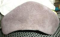 Vintage 1950's Ladies Gray Velvet Hat w/ Faux Pearls Hochschild Kohn Dept Store