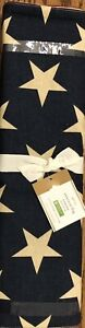 """Pottery Barn American Flag Star Print Table Runner 18"""" x 108"""" NEW Sold Out @PB"""