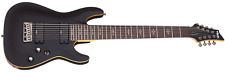 SCHECTER - Demon-8-absn Electric Guitar IN 8 Strings