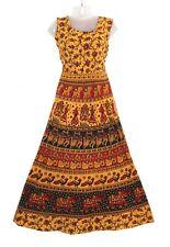 Beautiful Indian Women Maxi Long Dress Bohemian Handmade Hippie Cotton Gypsy