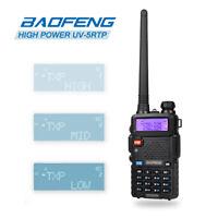 US Baofeng UV-5RTP V/UHF Dual Band Tri High Power 8/4W Two-Way Radio CTCSS/DCS