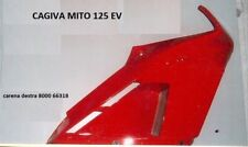 CARENA DESTRA CAGIVA MITO 125 EV ROSSA 8000 66318