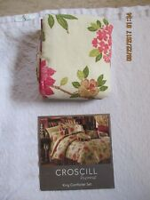 Croscill new never used Overfilled king pillow sham Rhapsody style no, 3747