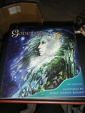 "Goddesses Paintings by Susan Seddon Boulet 2002 Calendar - 13""X12"" Prints - NEW"