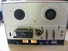 Vintage AKAI Reel to Reel 4000D Stereo Tape Recorder with Leads & Cover