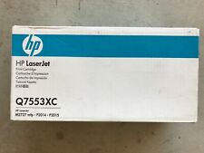 Brand New Genuine HP Q7553XC 53X Black Toner for LJ M2727 MFP, P2014, P2015