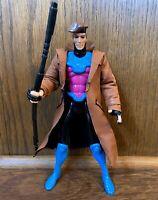 """Gambit Vintage Uncanny X-Men 10"""" Deluxe Action Figure 1994 Toybiz Marvel 90s"""