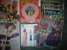 Vintage Lot Of 26~ 1972 etc., Magazines Needlework, Crafts,McCalls Pattern  etc