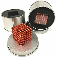5mm Colorful 216 pcs Neodymium Super Magnetic, like Buckyballs- Orange