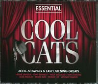 COOL CATS - 3 CD BOX SET - 60 SWING & EASY LISTENING GREATS