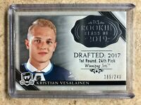 18-19 UD Upper Deck The Cup Rookie Class Of #2019-KV KRISTIAN VESALAINEN /249