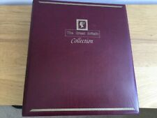 WESTMINSTER 'GREAT BRITAIN COLLECTION' STAMP ALBUM 4 RING BINDER