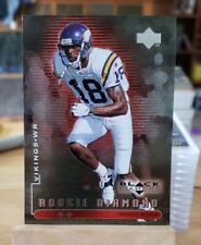 1998 Black Diamond Rookies Double #97 Randy Moss SN 1134/2500