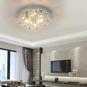 Chandelier Style Modern Ceiling Light Shade Pendant Crystal Bead Lights Lamp.